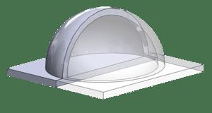 Dome part